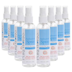 Picture of Case of eight 4oz Antibacterial Skin Spray
